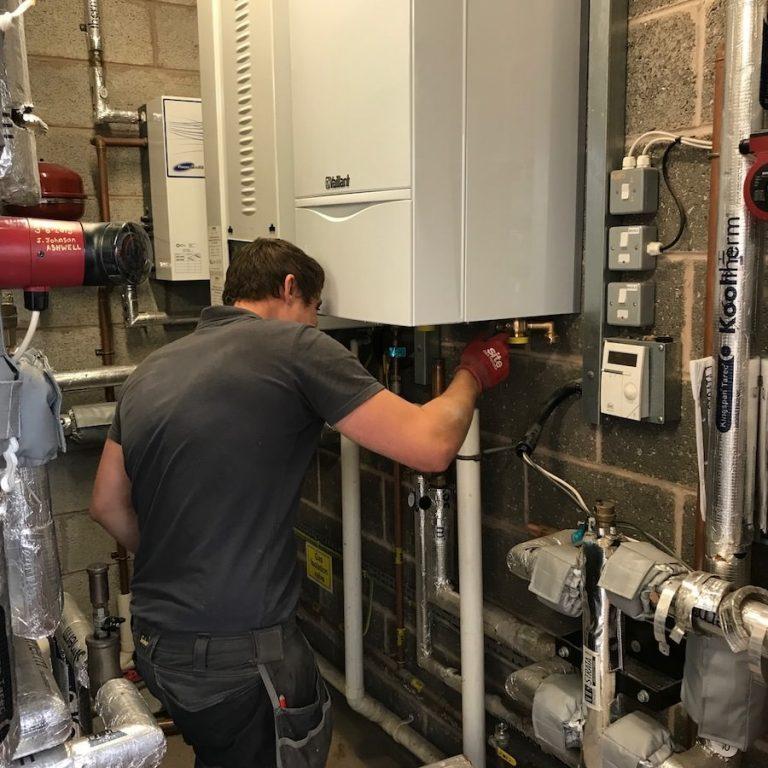 Commercial Boiler Services FWP Plumbers Nottingham