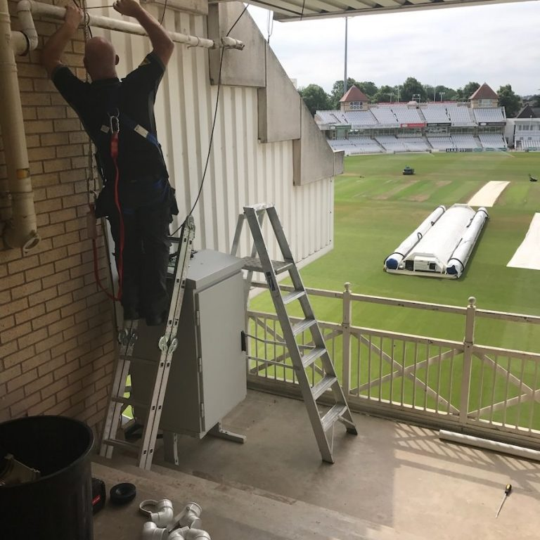Nottingham County Cricket Club Harness Plumbing Services Commercial Plumbing FWP Plumbers Nottingham