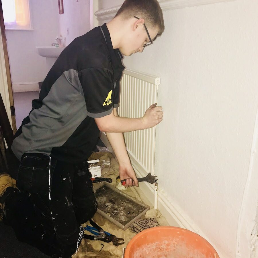 FWP Plumbers Nottingham Domestic Radiator Services Heating